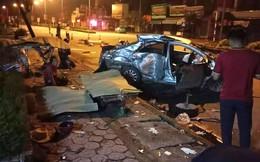 Xe khách đâm taxi ở ngã tư khiến 3 hành khách tử vong, tài xế nguy kịch