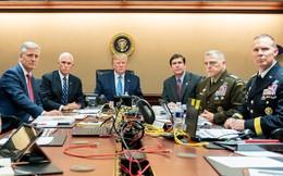 """Bức ảnh Trump theo dõi cuộc đột kích thủ lĩnh IS bị nghi là """"dàn dựng"""""""