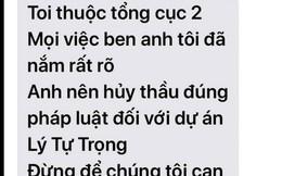 Tự xưng cán bộ Tổng cục 2, nhắn tin đe dọa Giám đốc Ban quản lý dự án ở Đà Nẵng