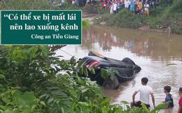 """Vụ xe Mercedes rơi xuống kênh khiến 3 người tử vong: """"2 anh em có uống nhưng không quá nhiều"""""""