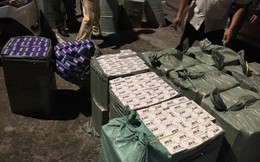 CSGT truy đuổi ô tô chở 11.000 bao thuốc lá lậu như phim