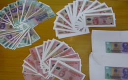 Đột kích tiệm sửa xe, cảnh sát bắt nhóm thanh niên sản xuất và lưu hành hàng chục triệu đồng tiền giả
