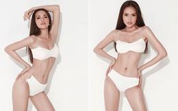 """Hoa hậu Ngọc Châu tung ảnh bikini, bốc lửa """"từng cm"""""""