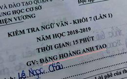 Thầy giáo dạy văn bất ngờ gây bão mạng xã hội với cái tên độc lạ 'Đặng Hoàng Anh Tao'
