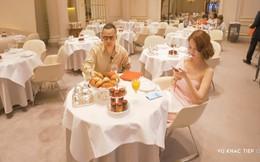 Vũ Khắc Tiệp dẫn Ngọc Trinh ở khách sạn Paris giá 110 triệu, ăn tối vài ngàn đô