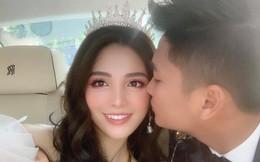 Rich kid Giang Lê xinh xuất sắc trong ngày cưới, chỗ đỗ dàn Rolls Royces tiết lộ vị trí đắc địa của nhà gái ở Hà Nội