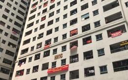 """Phường Hoàng Liệt nói không soạn văn bản phát ở loa chung cư Linh Đàm liên quan """"căng băng rôn đòi sổ hồng"""""""