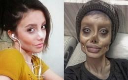 Cô gái 'xác sống' giống Angelina Jolie bị bắt