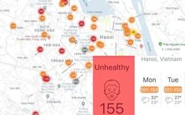 """AirVisual nói về thông tin """"Hà Nội là thành phố ô nhiễm nhất thế giới"""""""