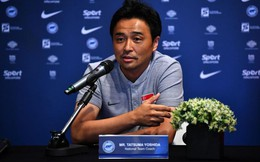 HLV Yoshida kêu gọi đội tuyển Singapore… đừng sợ