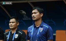 """Lên tiếng xin lỗi, HLV U19 Thái Lan bị fan nhà """"tặng"""" cơn mưa """"gạch đá"""""""