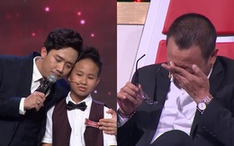 NSND Hồng Vân đòi bỏ làm giám khảo, Trấn Thành, Lại Văn Sâm bật khóc trước thần đồng 12 tuổi