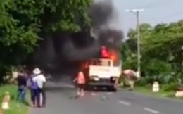 Người đàn ông tử vong sau khi bị xe tải cuốn vào gầm, kéo lê 15m