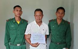 Bắt đối tượng truy nã đặc biệt trốn từ Đồng Nai lên biên giới Kon Tum