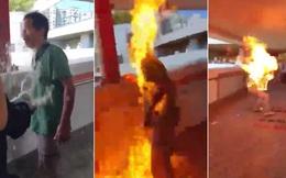 Vụ người đàn ông bị thiêu sống vì ủng hộ Bắc Kinh ở Hong Kong: BNG Trung Quốc nói gì?