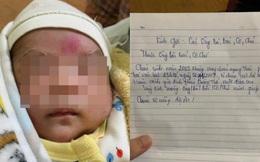 Bé 10 ngày tuổi bị bỏ rơi kèm theo bức thư tay, tuổi của người mẹ khiến tất cả bất ngờ, xót xa