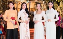 Dàn hoa hậu, á hậu xuất hiện xinh đẹp dự khai mạc Lễ hội Dừa Bến Tre