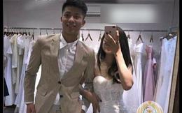 Phan Văn Đức bảnh bao chụp ảnh cưới cùng Nhật Linh