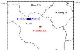 Xuất hiện trận động đất thứ 26 tại Thừa Thiên Huế mạnh 3,3 độ richter