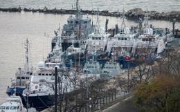 Nga trao trả 3 tàu chiến của Ukraine bị bắt giữ trên Biển Đen
