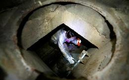 24h qua ảnh: Sinh viên Hong Kong tìm cách trốn ra ngoài qua hệ thống cống