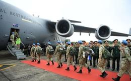 Bệnh viện dã chiến cấp 2 số 2 rời Hà Nội lên đường thực hiện nhiệm vụ tại Nam Sudan