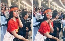 Gây sốt trên khán đài trận Việt Nam - Thái Lan, cô gái tiết lộ vé do một cầu thủ gửi tặng
