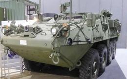 Thái Lan lần đầu trưng bày xe bọc thép Stryker