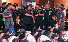 Bắc Kinh nói gì về vụ Malaysia đột kích, bắt tại trận 680 công dân Trung Quốc?