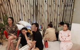 Nhóm 11 nam nữ từ Đồng Nai đến Vũng Tàu thuê biệt thự để sử dụng ma túy tập thể