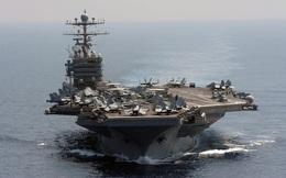 Nhóm tác chiến tàu sân bay Mỹ diễn tập quân sự gần Iran