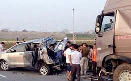 """Tiếp tục truy tố 2 lái xe vụ """"Innova đi lùi trên cao tốc"""" gây tai nạn"""
