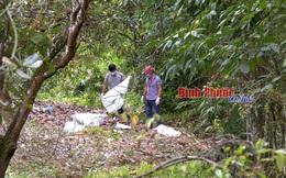 Diễn biến mới nhất vụ phát hiện nửa thi thể tại Bình Phước