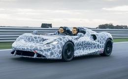 Siêu xe 1,7 triệu đô mới của McLaren không có trần, kính chắn gió làm bằng...không khí