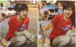 Hình ảnh mua bánh tráng trộn gây sốt 5 năm trước và cuộc sống trọn vẹn của hot girl Sài Thành