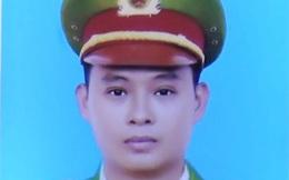 Thăng cấp bậc hàm cho chiến sĩ công an hy sinh khi truy đuổi trộm ở Long An