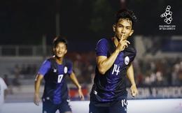 Campuchia đè bẹp Timor-Leste, đứng đầu bảng A tại SEA Games 2019