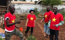 Nữ sĩ quan mũ nồi xanh Việt đưa thành công rau muống, bí, dền, mồng tơi vào CH Trung Phi ra sao?
