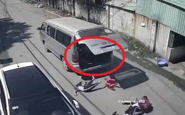 """3 học sinh tiểu học văng khỏi ô tô: """"Ngồi ghế đệm có dựa lưng, cửa có bung cũng không bao giờ rớt xuống"""""""