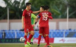 """Quang Hải """"nổ súng"""", U22 Việt Nam thắng lớn nhưng thầy Park bắt đầu phải lo lắng"""