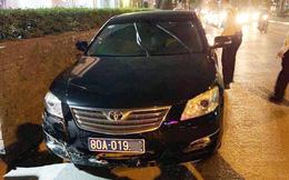Xác định danh tính tài xế điều khiển xe biển xanh 80A gây tai nạn bỏ chạy