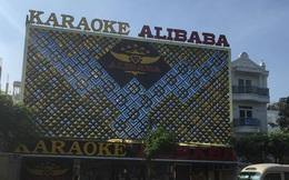 Mâu thuẫn với bảo vệ, nhóm khách vác hung khí đuổi chém kinh hoàng trong quán karaoke Alibaba ở Sài Gòn