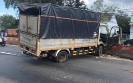 CSGT Bình Phước truy đuổi 20km, bắt tên cướp xe tải táo tợn trên phố