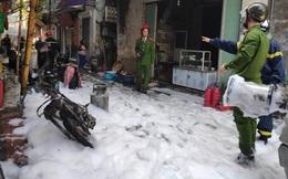 Hà Nội: Nổ bình gas gây ra cháy lớn trên phố Bùi Ngọc Dương