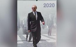 """Vì sao truyền thông phương Tây """"phát sốt"""" với hình ảnh Tổng thống Putin trong bộ lịch 2020?"""