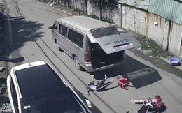Cục Đăng kiểm VN vào cuộc vụ ô tô đang chạy bị bung cửa, làm rơi học sinh