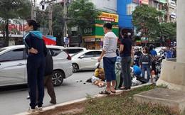 Danh tính tài xế cầm lái ô tô đâm liên hoàn 4 phương tiện khiến 3 người bị thương ở Hà Nội