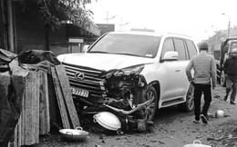 Hà Nội: Xe sang Lexus biển ngũ quý 7 tông chết người phụ nữ