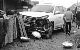 Xác định danh tính tài xế điều khiển xe Lexus biển ngũ quý 7 đâm chết người ở Hà Nội