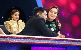 Hồ Ngọc Hà đòi bỏ về giữa show vì sợ bà xã Đức Thịnh ghen